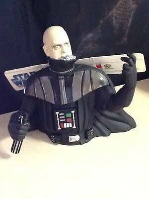 Unmasked dearth Vader coin bank NEW
