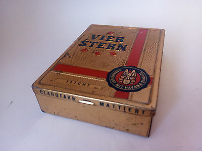 Rare Vierstern Vintage 10 Cigars Box (P.J. Landfried Heidelberg) Germany