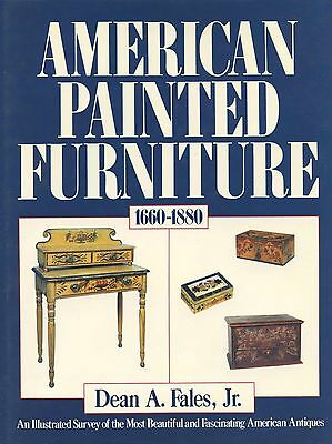 Antique American Painted Furniture 1660-1880 (500+ Photos) / In-Depth Book