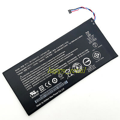 3580mAh Battery For Acer Iconia Tab B1-730 Gateway Tab G1-725 Tablet MLP2964137