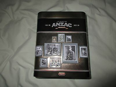 Anzac 2015 100 Years Gallipoli Limited Edition Biscuit Tin  '' Heroes ''