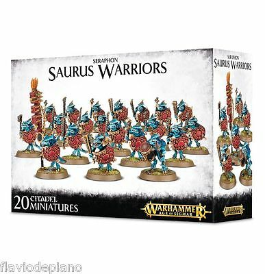 seraphon warriors Warhammer age of Sigmar