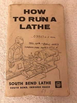 How To Run A Lathe By South Bend Lathe