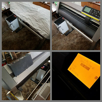 "Graphtec CE6000-60 24"" Vinyl Cutter and Supplies * 50+ Rolls of Vinyl & More!"