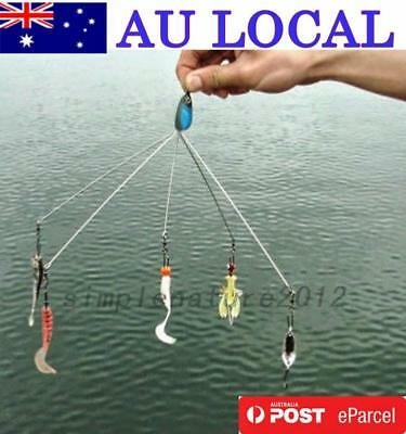 Outdoors Fish Lures Multifunctional Fishing Tackle Combination AU Local