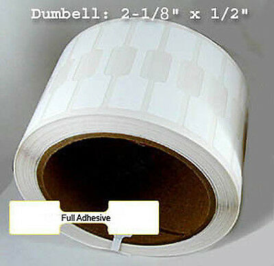 2,500 Barbell Butterfly Thermal Transfer- Polyprop Jewelry Label Ribbon Required