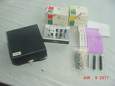 WQ-10D1 Acupunctoscope With 3-Channels and 200 needles EXCELLENT