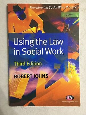 Using the Law in Social Work by Robert Johns (Paperback, 2007)
