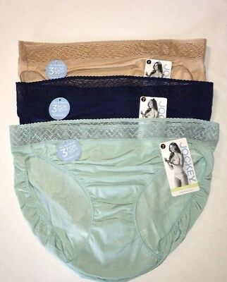 3f1d25720733 JOCKEY 1346 LINE-FREE Look Hipster Panty Size Small 5 3 Pairs ...