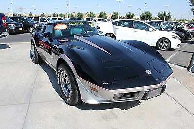 1978 Chevrolet Corvette 25th Anniversary Pace Car 3k Miles Rare! 1978 Chevrolet Corvette 25th Anniversary Pace Car
