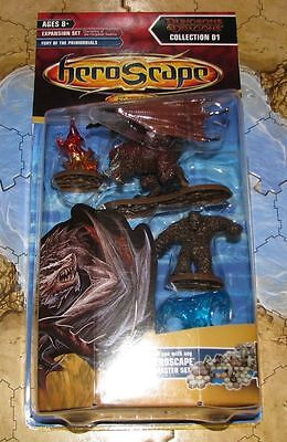NIB Fury of the Primordials Wave 11 D1 Champions Forgotten Realms Heroscape D&D