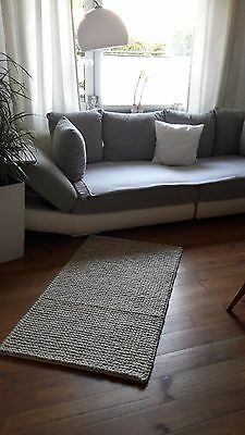 sofa ikea blau mit bettfubktion und kasten mit flecken eur 1 00 picclick de. Black Bedroom Furniture Sets. Home Design Ideas