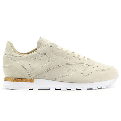 Reebok Men's Classic Leather LST Cream/White/Cork Shoes BD1902 NEW!