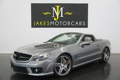 2009 Mercedes-Benz SL-Class SL63 AMG 2009 MERCEDES SL63 AMG, ONLY 35K MILES! IMMACULATE CAR! CARBON FIBER TRIM INSIDE