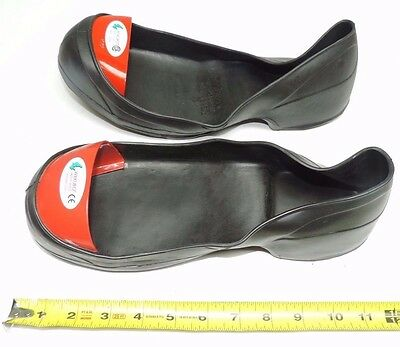 1 Pair Wilkuro Canada Safety Toes Shoe Covers Size Large (US 10 or 11) - Red