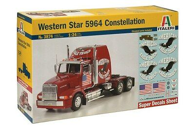 ITALERI Western Star 5964 Constellation 1/24 Scale Plastic Kit