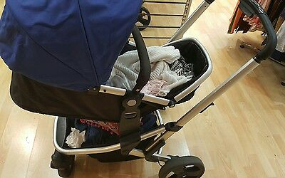 Mothercare Deluxe Stroller Pushchair Pram Buggy With Car