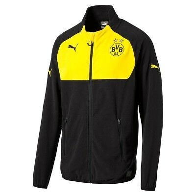 Puma BVB Full Zip Fleece Jacket Children Sports jacket sweatshirt Zip