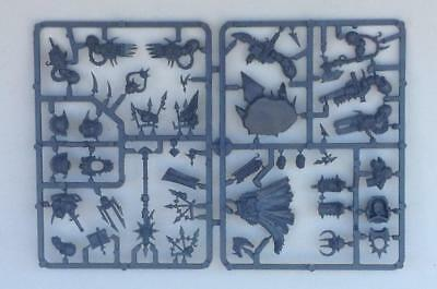 warhammer 40000 chaos space marine chaos lord new on sprue