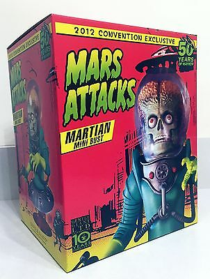 Gentle Giant Mars Attacks Martian Mini Bust 2012 SDCC EXCLUSIVE - NEW!
