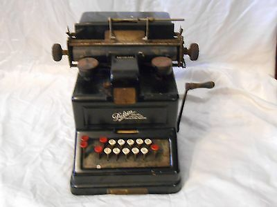 Vintage Adding Machine 1912 Antique Old DALTON