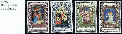 St.christopher Nevis Anguilla.1976 Christmas Set See Scans
