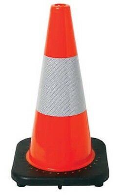 Traffic Safety Cones 450mm PVC  Hi Vis Quality Product