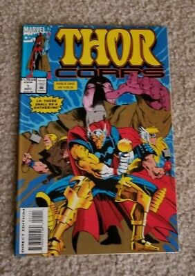 THOR Corps #1 Sept 95 A Gathering of Heroes! Thunderstrike, Beta Ray Bill-Marvel
