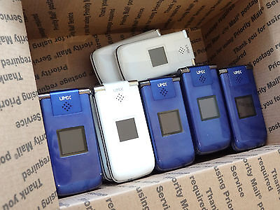 Lot of 28 Untested UMX MXC-628 Cell Phones Unknown Carrier AS-IS
