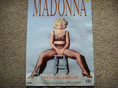 Madonna Official 1992 Calendar - Some Water Staining