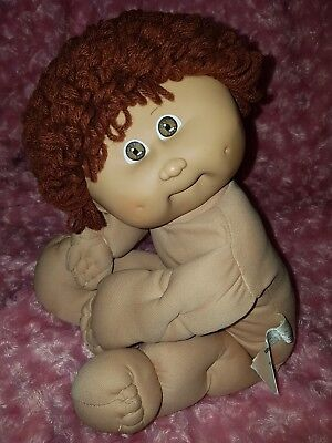 Vintage Cabbage Patch Kid Doll ☆ Boy, HM9/Monkey Face, Brown hair, Brown 👀 ☆ GC