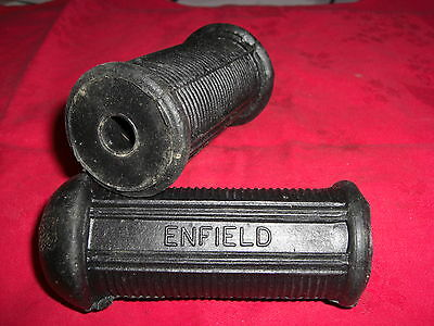 PAIR of ENFIELD FOOT REST RUBBERS
