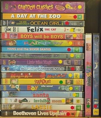 Bulk Mixed Lot of Childrens DVDs x19 - Region 4, Brand New/Sealed