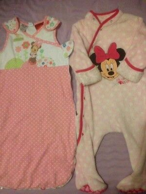 Minnie Mouse Romper And Sleeping Bag