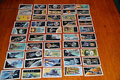 full set(brooke bond)the race into space cards