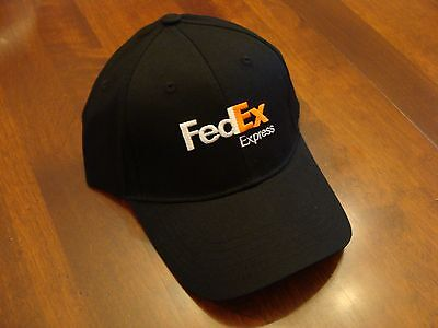 FedEx Express Hat,  New Cap adjustable size with nice stitched logo