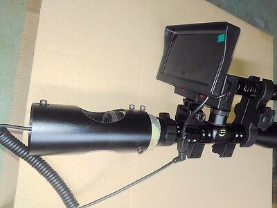 NEW ARRIVAL! DIY Night Vision Scope&IR Torch and Monitor for Hunting Rifle Scope