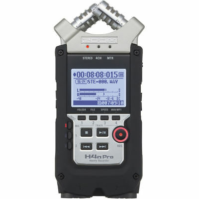 Zoom H4n Pro 4-Channel Handy Recorder New
