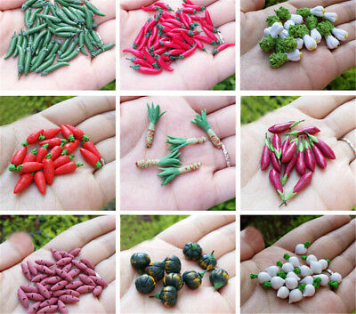 10x 1:12 dollhouse miniatures mini vegetables food play doll house accessorieH&T