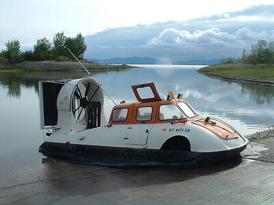 Hovercraft Odyssey 700 1979 Amphibious Air Boat Enclosed Cabin