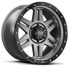 """New Tuff T16 17X9""""  Mag Wheels. Will Suit Most 4Wd's."""