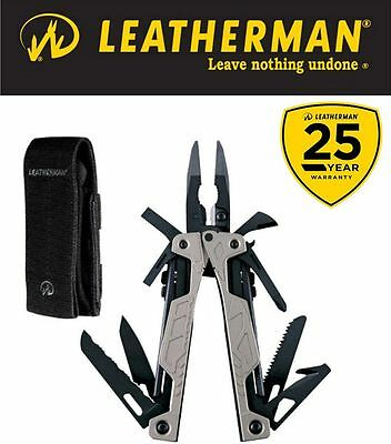 Genuine Leatherman OHT Silver One Handed Multi-Tool With Molle Sheath