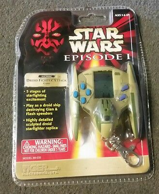tiger electronics starwars episode one 1999 electronic game