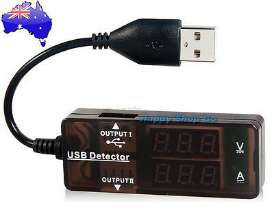 USB Charger Doctor Voltage Current Meter Mobile Battery Tester Power Detector OZ
