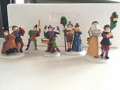DepT 56 Dickens Village - Here We Come A-Wassailing (set of 5)