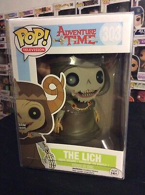 Funko Pop Rare W/protector Adventure Time The Lich 303 Vaulted