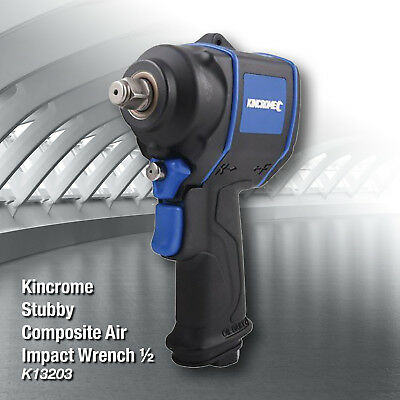 Kincrome K13203 Pneumatic Stubby Composite Air Impact Wrench  1/2''square Drive