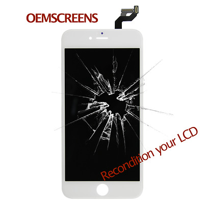 Apple iPhone 6s Plus Cracked Screen LCD Touch Refurbishing Service in the Mail