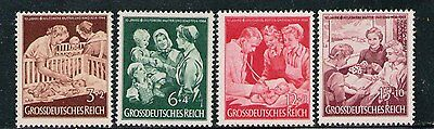 "ALEMANIA/GERMANY 1944 MNH SC.B253/B256 ""Mother and Child"" aid 10th"