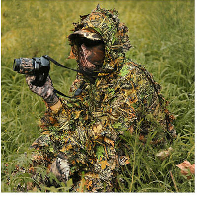 HOT!3D Tactical Sniper Camouflage Clothing Bionic Ghillie suit hunting clothes